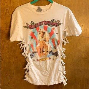 Tops - Britney Spears tour tshirt